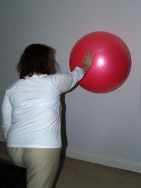 Arm rotation onball